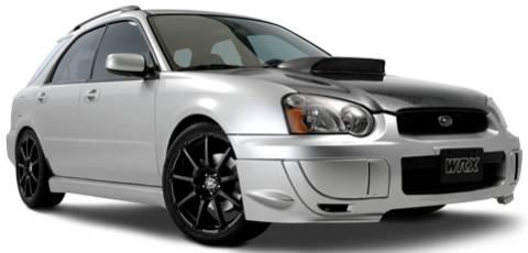 Enkei EDR9 Wheels on Subaru