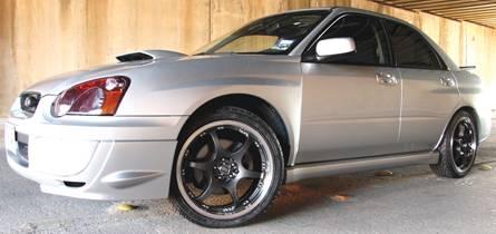 Enkei ES6 Wheels on Subaru