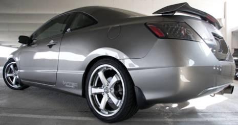 Enkei Falcon Wheels on Honda Civic