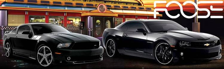 Foose Designs for Classics and Modern Muscle Cars
