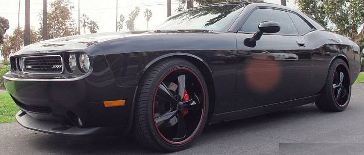 Dodge Challenger SRT8 on Foose Legends