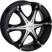 Forte F3 Signs Black Mirror Custom Wheels