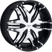 Forte F40 Black Mirror Custom Wheels