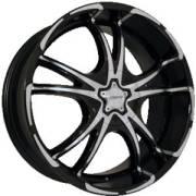 Forte F50 Twisted Black Mirror Custom Wheels