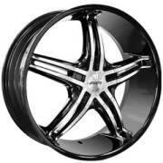 Forte F56 Black Mirror Custom Wheels