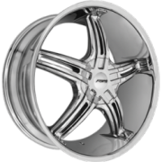 Forte F56 Legend Chrome Wheels
