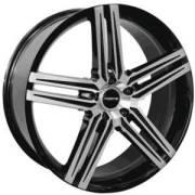 Forte F57 Black Mirror Custom Wheels