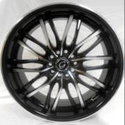 G-Line 3108 Gloss Black machined