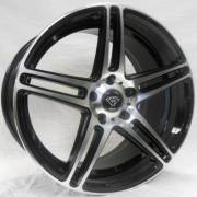 G-Line 3184 Gloss Black Machined