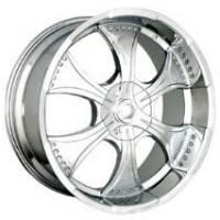 Gazario 166 Chrome Wheel