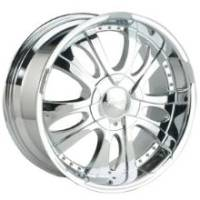Gazario 167 Chrome Wheel