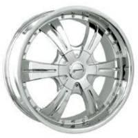 Gazario 610 Chrome Wheel