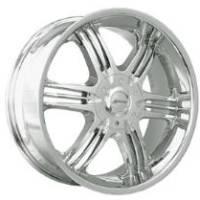 Gazario 611 Chrome Wheel