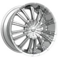 Gazario 616 Chrome Wheels