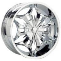 Gazario 617 Chrome Wheel