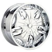 Gazario 619 Chrome Wheel