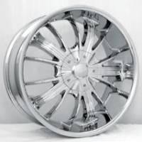 Gazario 701 Chrome Wheels