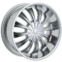 Gazario 702 Chrome Wheel