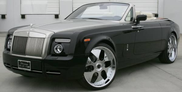Giovanna Berlin Chrome for Rolls Royce