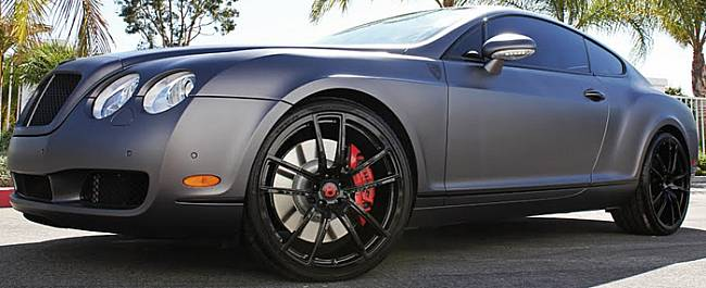 Giovanna Forged Crew Black Wheels for Bentley