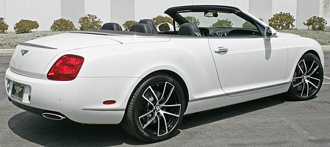 Giovanna Forged Crew Black-Mach Wheels for Bentley