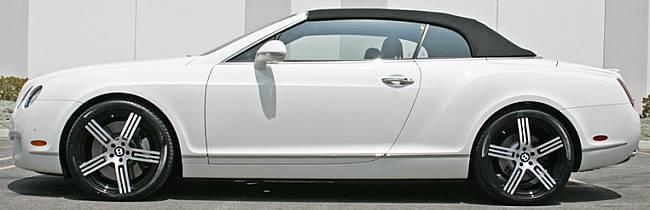 Giovanna Forged Falluja Black Wheels for Bentley