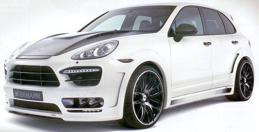 Hamann Guardian EVO on 2013 Porsche Cayenne Turbo