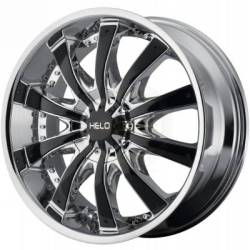 Helo HE875 Chrome w/Black Inserts