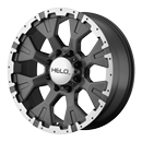 Helo Wheels HE878 Dark Silver