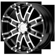 Helo Wheels HE835 Black Machined