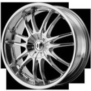Helo Wheels HE845 Chrome
