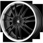 Helo Wheels HE845 Gloss Black Machined