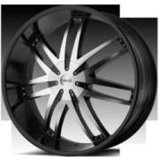 Helo HE868 20x8.5 6x139.7 +38 Satin Black Machined
