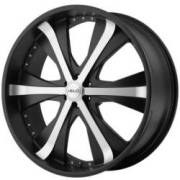 Helo Wheels HE869 Satin Black Machined