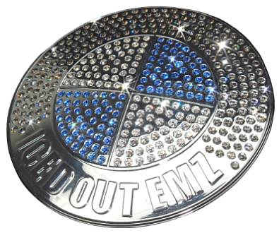Iced Out EMZ BMW Badge