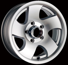 Ion style 10 trailer wheels