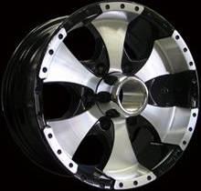 Ion style 136 6-lug trailer wheels