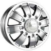 Ion Alloy 166 Chrome Dually Front