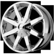 KMC Wheels KM650 Slide FWD Chrome