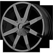 KMC Wheels KM650 Slide FWD Gloss Black