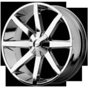 KMC Wheels KM651 Slide RWD Chrome