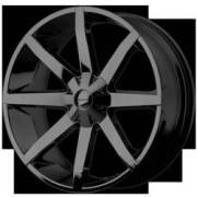 KMC Wheels KM651 Slide RWD Gloss Black
