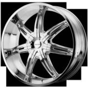 KMC Wheels KM665 Surge Chrome
