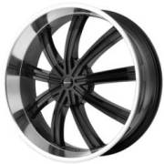 KMC Wheels KM672 Widow Black