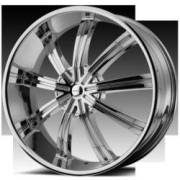 KMC Wheels KM672 Widow Chrome