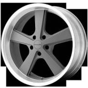 KMC KM701 Nova 20x8.5 5x114.3 +35mm Gray Machined