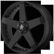 KMC Wheels KM775 Rockstar Car Matte Black