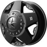 KMC XD Series XD775 Rockstar Dually Matte Black