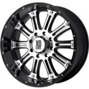 KMC XD Series XD795 Hoss Gloss-Black Machined