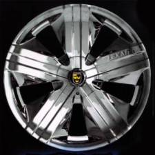 18x7.5 Lexani Sterling Chrome Wheels 4x100/114.3